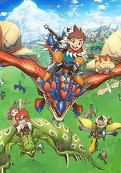 аниме Monster Hunter Stories RIDE ON