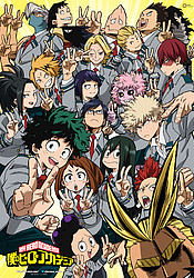 аниме Boku no Hero Academia 2nd Season