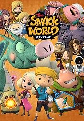 аниме The Snack World